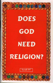 does god need religion?