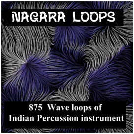 asian nagara drum loops