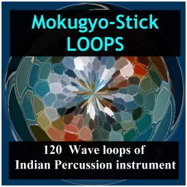 asian mokugyo-stick loops