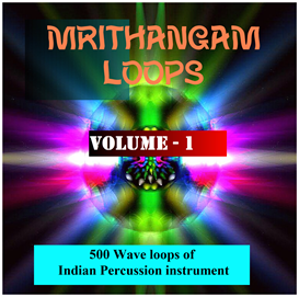 asian mrithangam loops - volume - 1