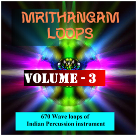 Asian Mrithangam Loops - Volume - 3 | Music | World