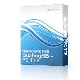 QuahogBB - TTF | Software | Design