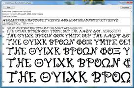 GH Kurlz Font Bold | Other Files | Fonts