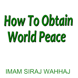 how to obtain world peace