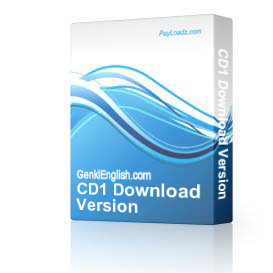 CD1 Download Version | Software | Audio and Video