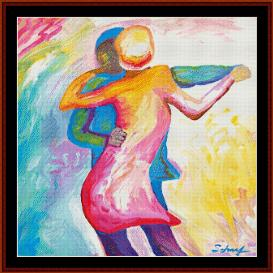 Dancing Couple - Scharf cross stitch pattern by Cross Stitch Collectibles | Crafting | Cross-Stitch | Other