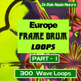 european frame drum - volume - 1
