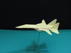 Third Additional product image for - Origami F-14 Tomcat Tutorial Video