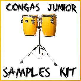 congas samples vol1 conga junior reason kontakt logic soundfonts sf2 soundfont latin percussion