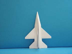 Third Additional product image for - Origami F-16 Falcon Tutorial Video