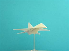 origami f-16 falcon tutorial video