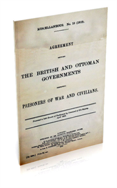 Agreement Between the British and Otterman Governments Respecting Prisoners of War and Civilians | eBooks | History