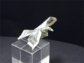 origami dollar bill eagle tutorial video