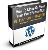 wordpress cloner