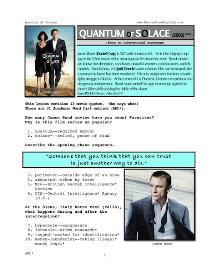 quantum of solace, whole-movie english (esl) lesson