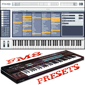native instruments ni fm8 fm 8 ultimate vsti presets, hugepack dx7