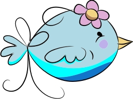 Blue Bird machine embroidery file | Crafting | Sewing | Baby and Child