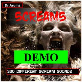 horror scream demo