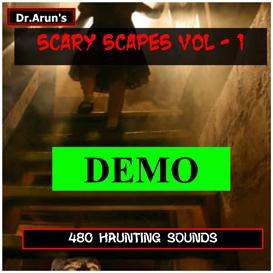 horror scary scapes - voume - 1