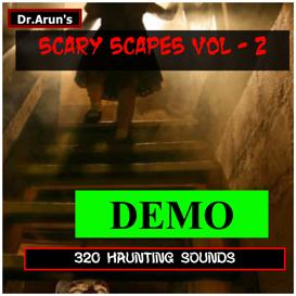 horror scary scapes - voume - 2