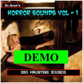 horror sounds - volume - 1