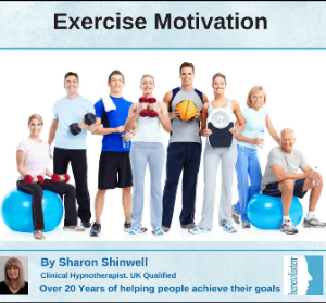 get motivated to exercise with self hypnosis