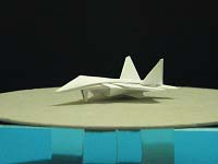 First Additional product image for - Origami Dollar F-22 w/ Landing Gears Tutorial Video