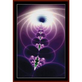 Fractal 320 cross stitch pattern by Cross Stitch Collectibles | Crafting | Cross-Stitch | Other