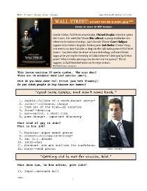 wall street-money never sleeps, whole-movie english (esl) lesson