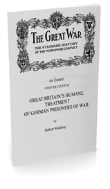 great britain's humane treatment of german prisoners of war (c.1917)