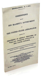 Misc. No.5. Treatment of German Prisoners of War and Interned Civilians in the United Kingdom. | eBooks | History