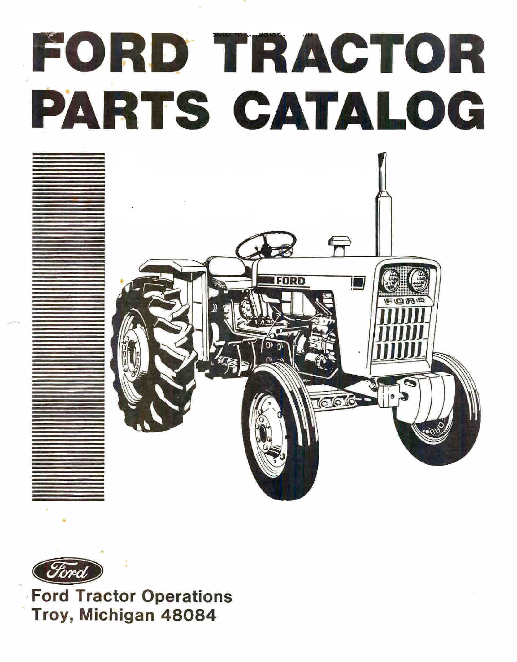 Ford 3000 Tractor Parts Diagram Wiring Data 3400 Manual Ebooks Automotive 5000