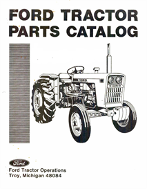 ford 1000 tractor parts manual