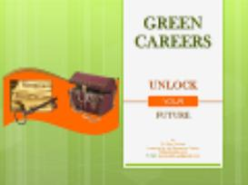 green careers - unlock your future