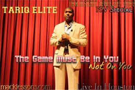 the game must be in you not on you-video lecture