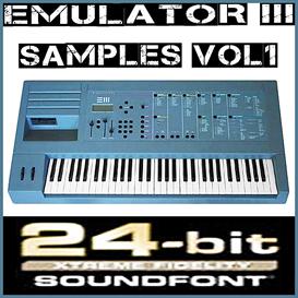 emu e-mu emulator iii 3 emulator3 vol1 soundfont reason 5 6 refill sf2 fl studio 10 fruity loop