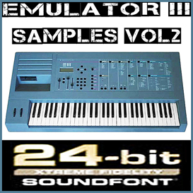 emu e-mu emulator iii 3 emulator3 vol2 soundfont reason 5 6 refill sf2 fl studio 10 fruity loop
