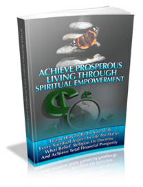 Prosperous Living | eBooks | Self Help