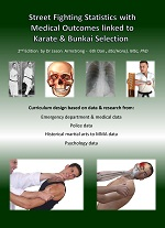 ebook street fight statistics with medical outcomes linked to karate bunkai selection