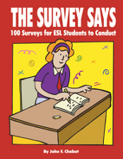 the survey says: 100 surveys for esl students to conduct