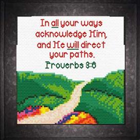 paths - proverbs 3:6 chart