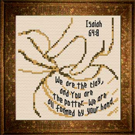 potter  / clay - isaiah 64:8 chart