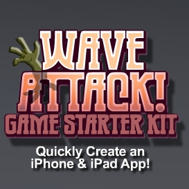 wave attack game starter kit - personal license