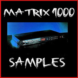 oberheim matrix1000 matrix 1000 vintage analog synthesizer kontakt 4 5 sample