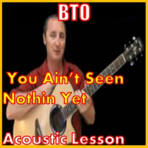 learn how to play you aint seen nothing yet by bto