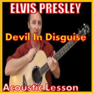 learn to play devil in disguise by elvis presley