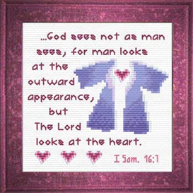 lord sees heart