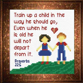 train a child - proverbs 22:6