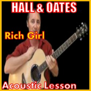 learn to play rich girl by hall and oats