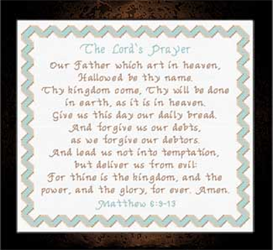 the lord's prayer chart